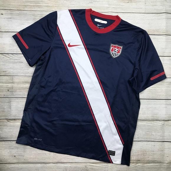 online retailer ad58e e711d Mens NIKE USMNT World Cup away jersey shirt sz XL